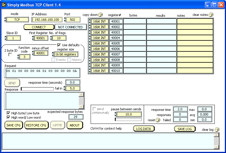 TCP Client Manual 1 | Simply Modbus Software