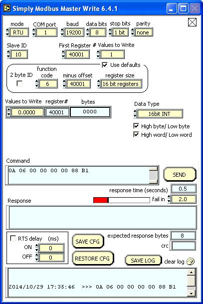 Simply Modbus - Modbus RTU/ASCII Master Test Software - Manual