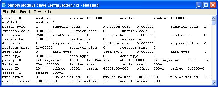 Modbus RTU/ASCII Slave Manual 7 | Simply Modbus Software