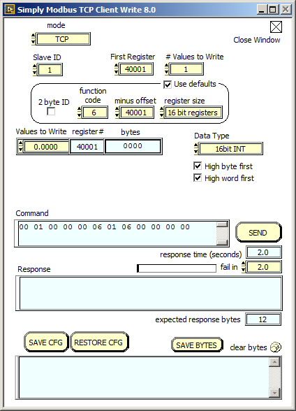 TCP Client Manual 8   Simply Modbus Software